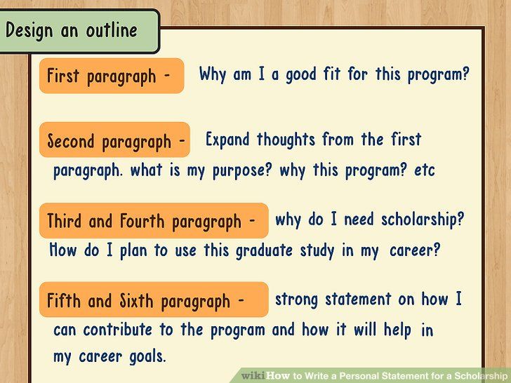 How to Write a Personal Statement for a Scholarship 13 Steps - personal statements
