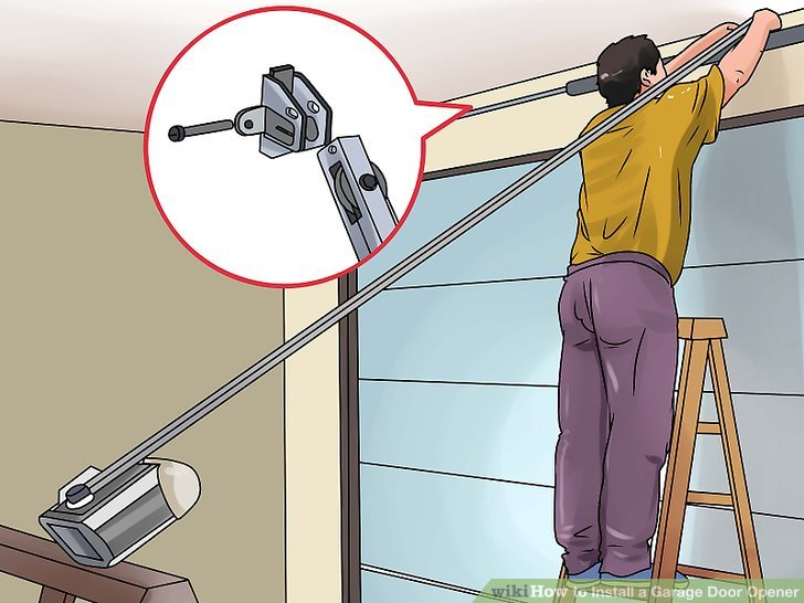 How to Install a Garage Door Opener (with Pictures) - wikiHow