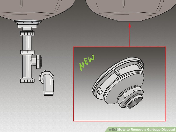 How To Remove A Garbage Disposal With Pictures Wikihow