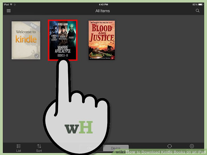 How to Download Kindle Books on an iPad (with Pictures) - wikiHow