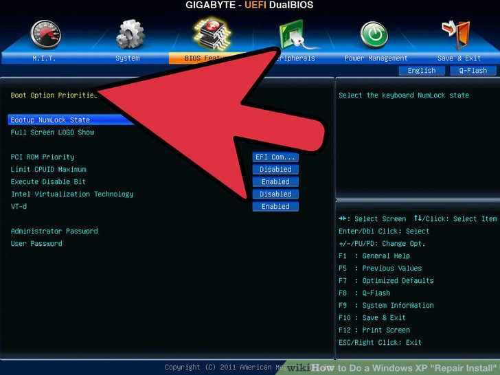How to Do a Windows XP \ - windows repair install