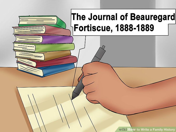 How to Write a Family History (with Pictures) - wikiHow