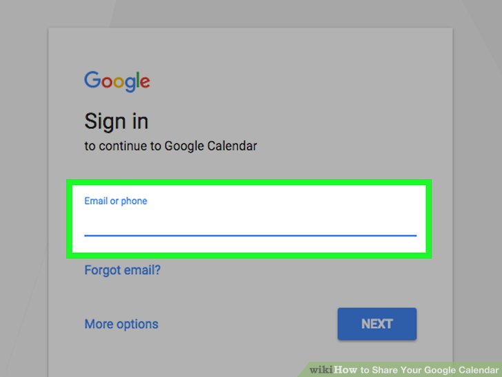 How to Share Your Google Calendar 14 Steps (with Pictures) - caeldnar