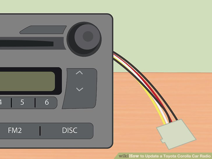 3 Ways to Update a Toyota Corolla Car Radio - wikiHow