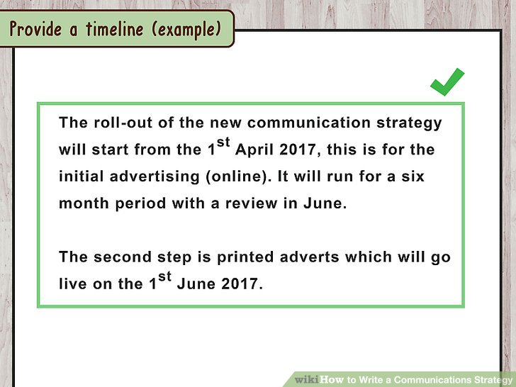 How to Write a Communications Strategy (with Sample Strategies)