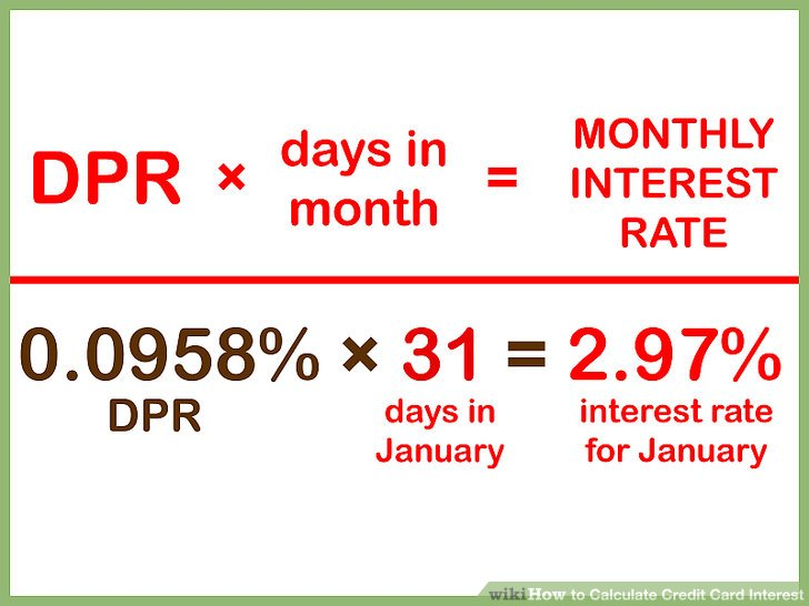 interest rate on credit cards calculator - Militarybralicious