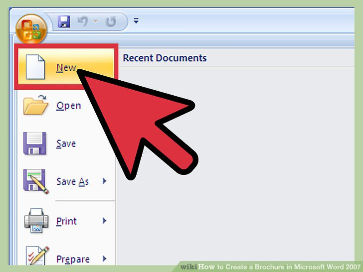 How To Make Brochures On Microsoft Word Wikihow - poster123info