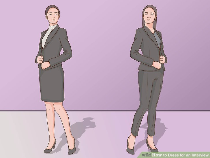 3 Ways to Dress for an Interview - wikiHow