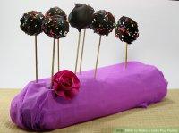 6 Ways to Make a Cake Pop Holder - wikiHow