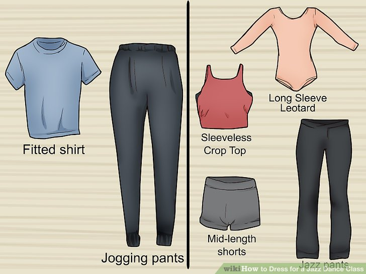 How To Dress For A Jazz Dance Class 9 Steps With Pictures
