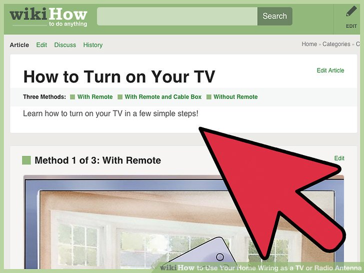 How to Use Your Home Wiring as a TV or Radio Antenna 4 Steps