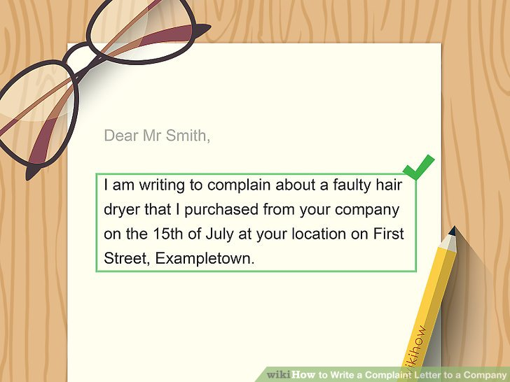 How to Write a Complaint Letter to a Company (with Sample Letters)