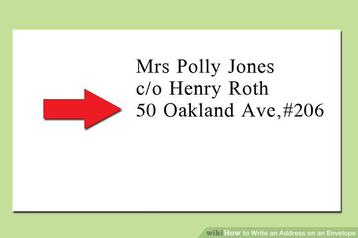 The Proper Way to Write an Address on an Envelope - wikiHow