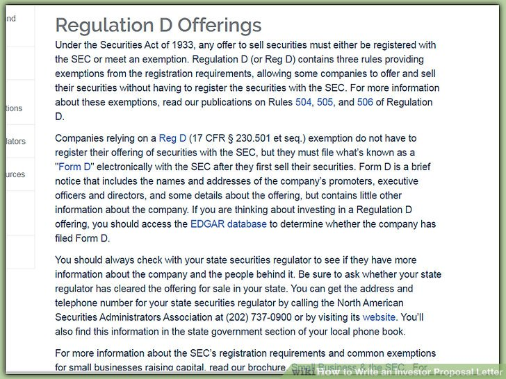 How to Write an Investor Proposal Letter (with Sample Letter) - investor rejection letter samples