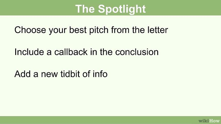 Cómo terminar una carta de presentación 15 pasos