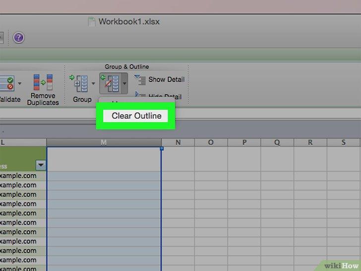 Cómo agrupar y hacer esquemas en Excel 14 pasos