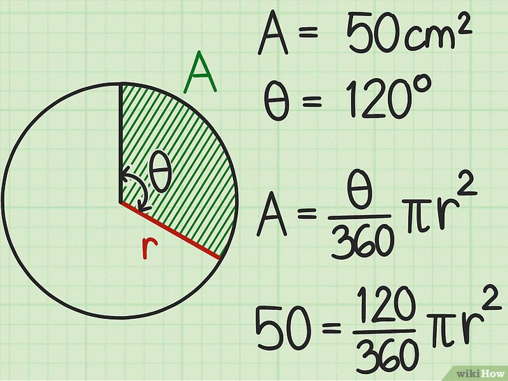 Berechnung des Radius eines Kreises \u2013 wikiHow