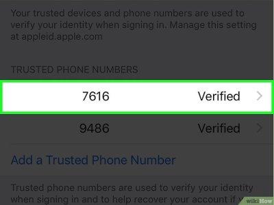 Cómo cambiar tu número de código de verificación de seguridad de iCloud en un iPhone