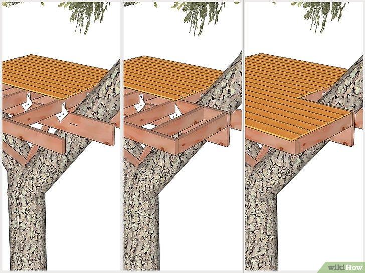 Comment Construire Une Cabane Dans Les Arbres Wikihow