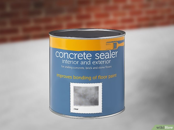 Eine Betonwand streichen u2013 wikiHow - haus ausenfarbe grau
