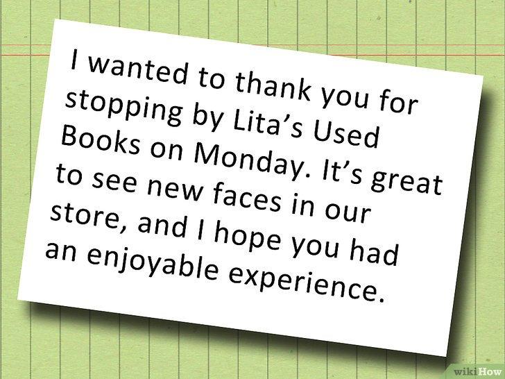 Cómo redactar una carta de agradecimiento a un cliente
