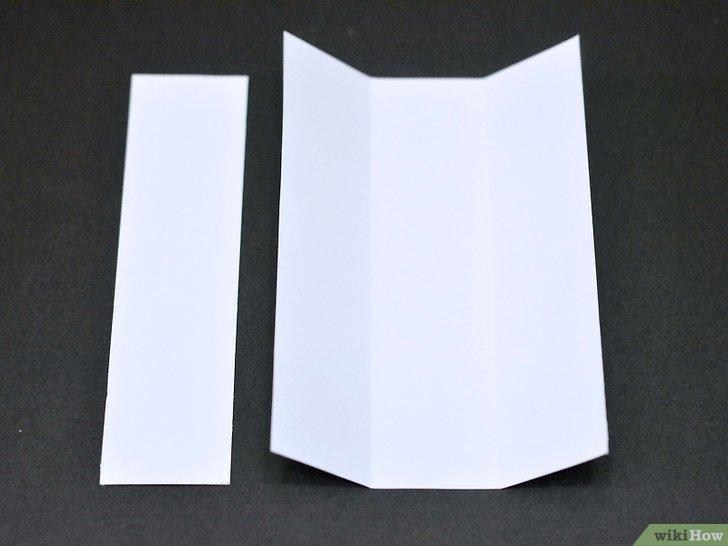 Einen Origami Stuhl Basteln Wikihow