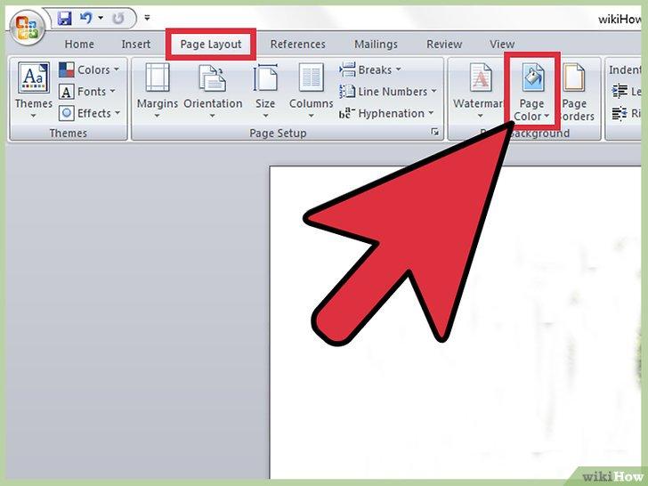 Cómo insertar una imagen de fondo en Word 10 pasos