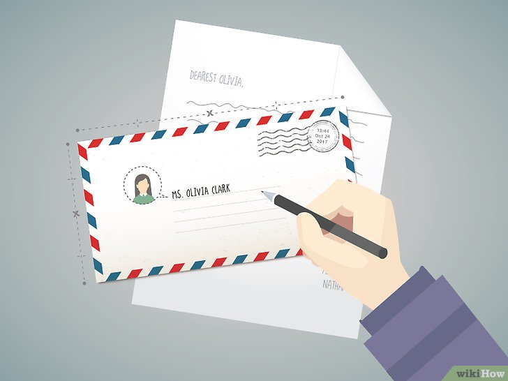 Cómo escribir la dirección en un sobre para enviar una carta a Canadá