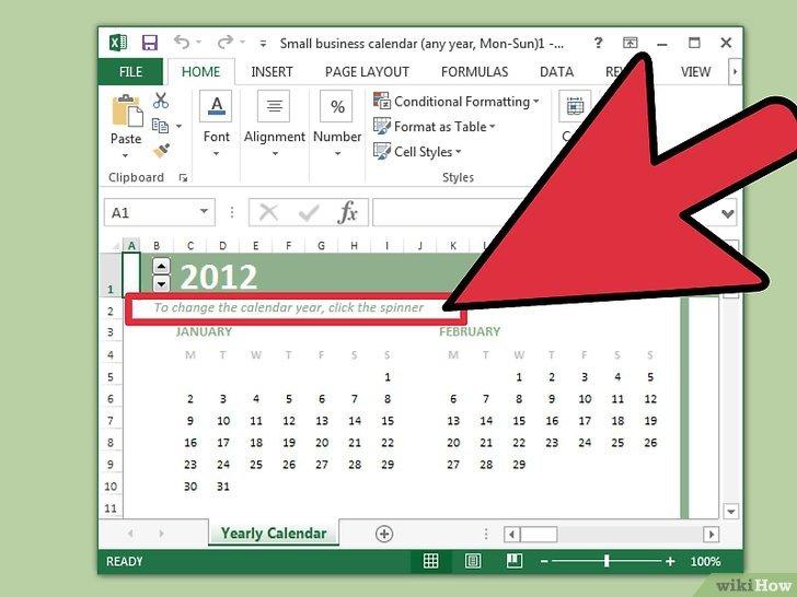 Cómo crear un calendario en Microsoft Excel 19 pasos