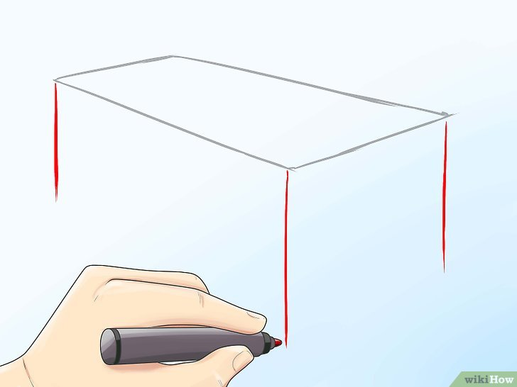 Como Desenhar Uma Mesa 12 Passos Com Imagens Wikihow