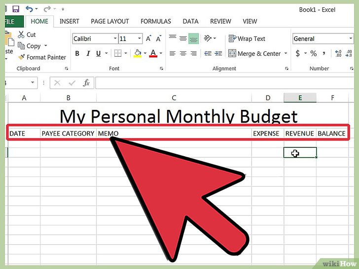 Home Expense Tracker Excel Template - mandegarinfo - home expense tracker excel template