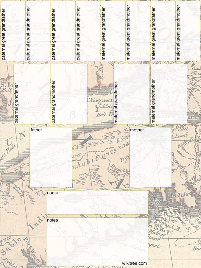 Free Printable Family Tree Diagrams - family tree free printable