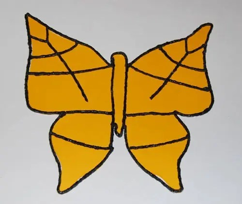 Wikki-Stix-Stained-Glass-Inspired-Butterfly-Template Wikki Stix - butterfly template