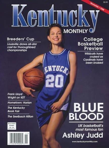 Ashley Judd Famous Kentucky Fan Walter S Wildcat World