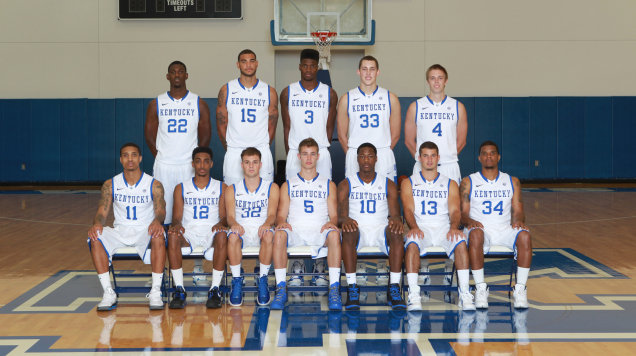 2012-2013 Kentucky Basketball Roster