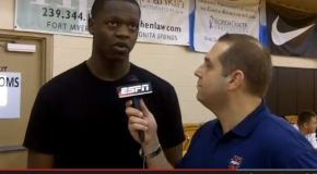 Video:  If Julius Randle could pick one player to play with, he'd pick Andrew Harrison