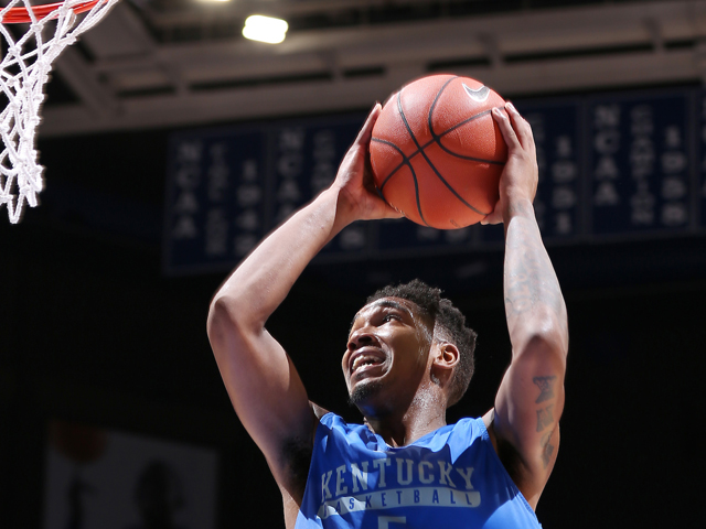 WATCH: Malik Monk shows off insane dunking ability