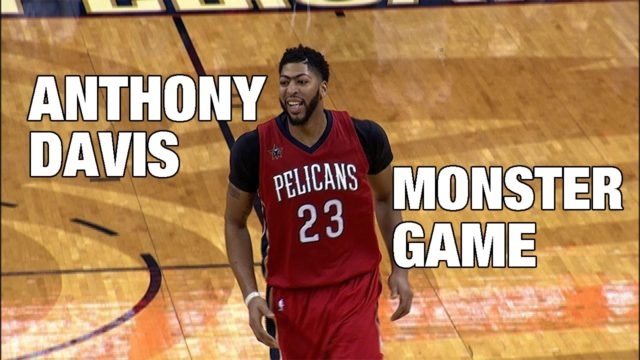 WATCH:  Anthony Davis explodes for 50 points in season opener