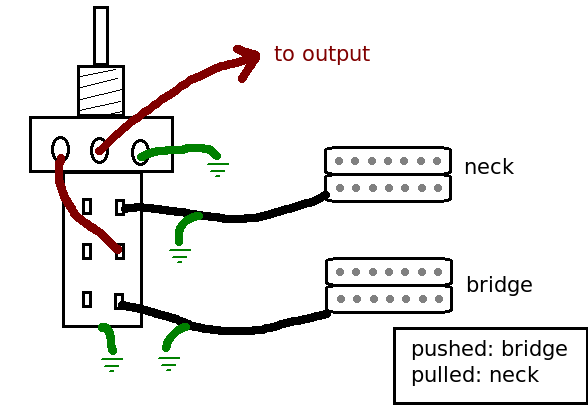 3 position pull switch wiring diagram