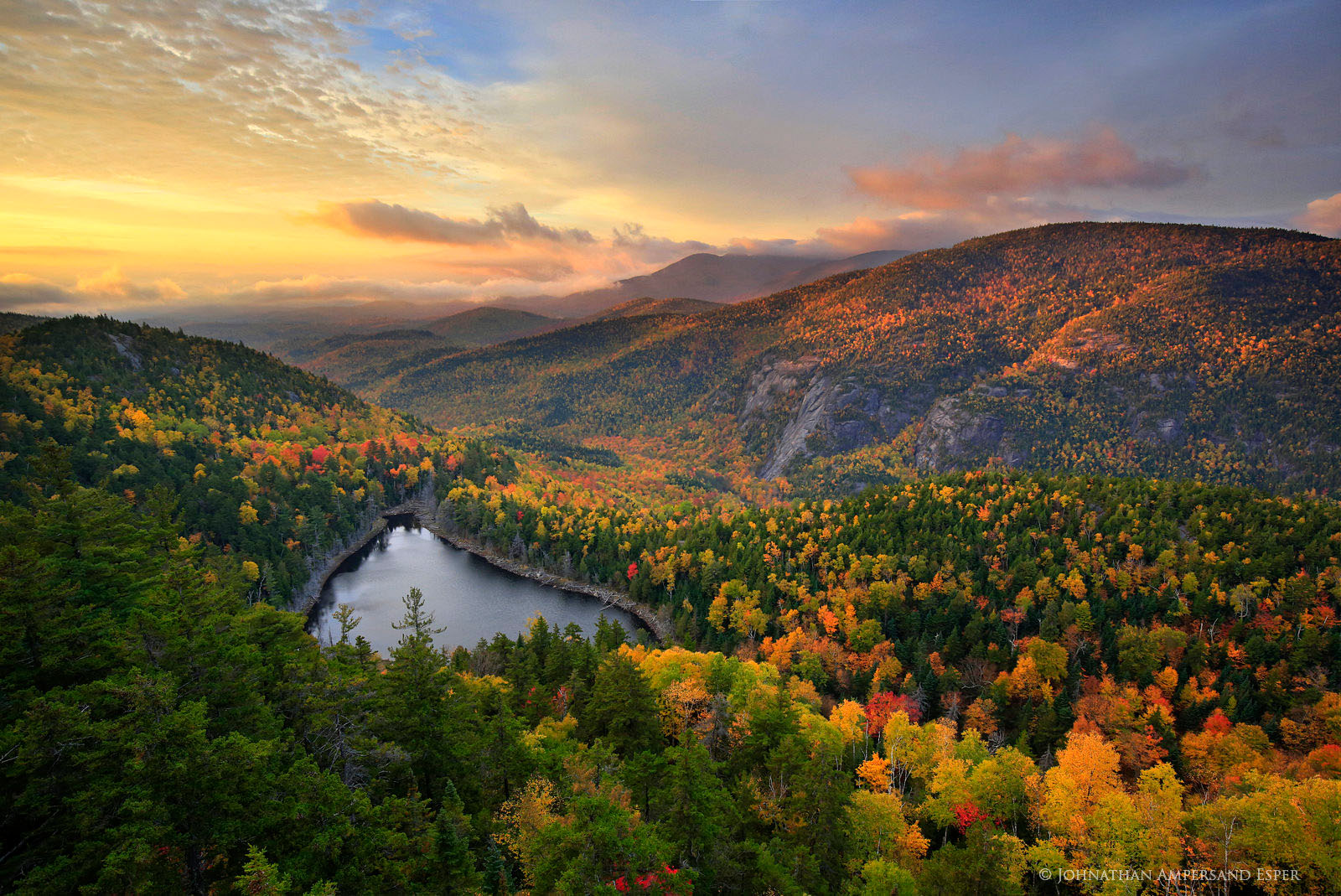Wallpaper Sunrise At Fall Wildernesscapes Photography Llc By Johnathan A Esper