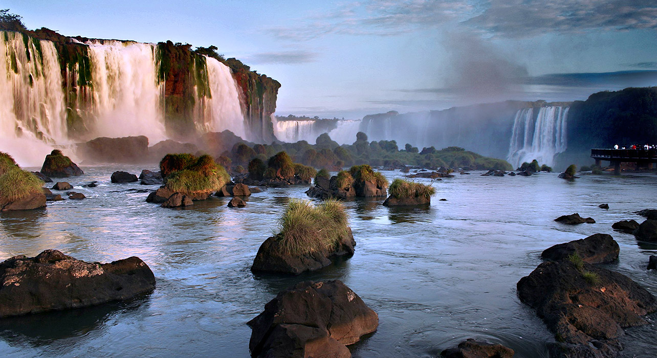 Iguazu Falls Wallpaper Iguazu Falls Extension Wilderness Travel