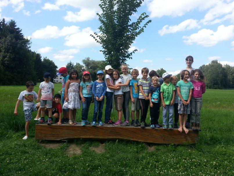 """Ferienprogramm zum Thema """"Naturerlebnis mit allen Sinne"""" im Dorfener Moos"""