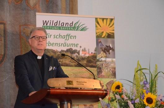 Festredner Prälat Dr. Christoph Kühn, Domkapitular im Bistum Eichstätt©Wildland-Stiftung Bayern
