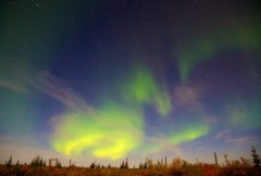 Northern Lights at Nanuk Lodge 2013