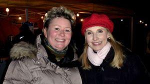 Lilly Staudigl (links) die perfekte Organisatorin dieses tollenn Abends mit Opernstar Eva Lind.