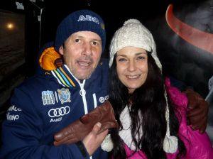 Ski-Trainer Günsi unterhielt die Achenseer Wirte....