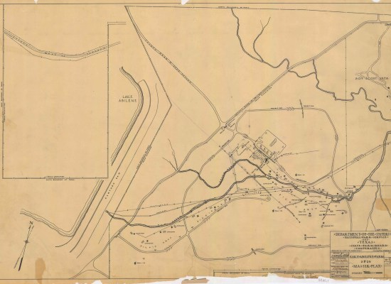 Abilene State Park Master Plan | Photo credit:  Texas State Archives