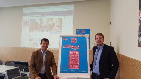 Neues Konzept der Wirtschaftsförderung - Pop UP Stores in Warburg
