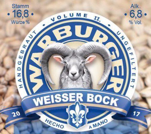 """Der """"Weiße Bock"""" ab 27. März zu kaufen"""