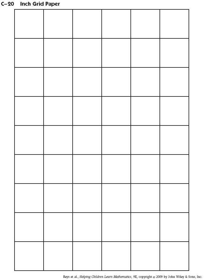 Inch Graph Paper - FREE DOWNLOAD